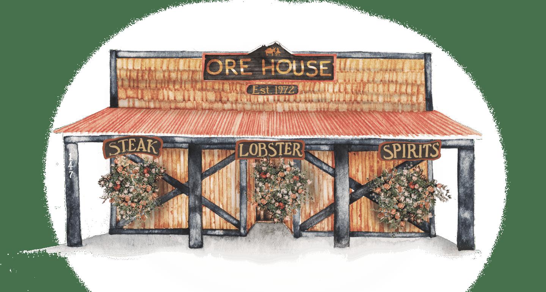 ORE HOUSE SECRET MENU