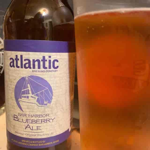 Atlantic Brewing Blueberry Ale- 12 oz bottle