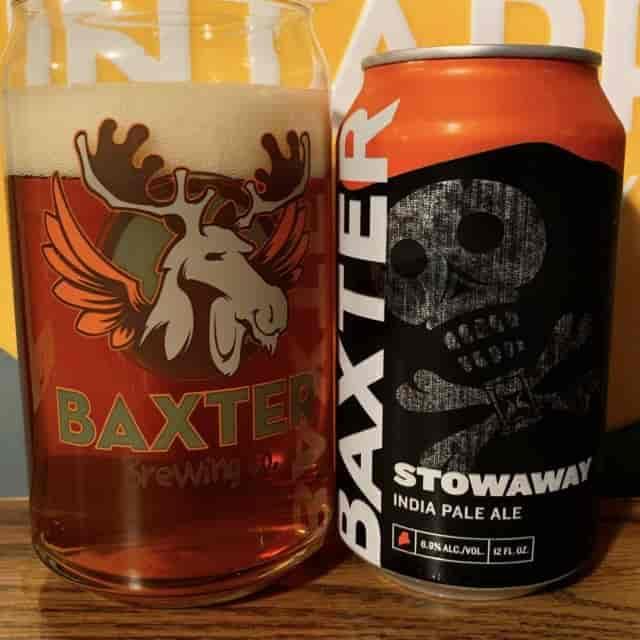 Baxter Stowaway IPA 12 oz can