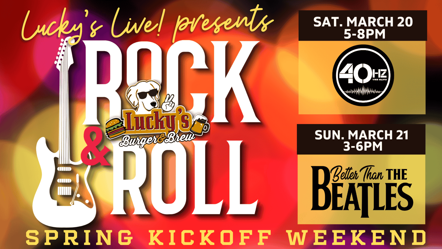 Rock & Roll Weekend Lucky's Live! Roswell
