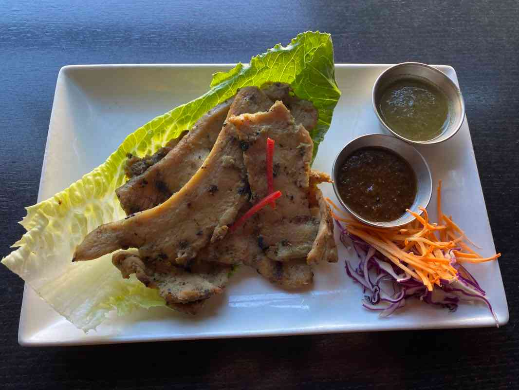 Flying Tiger Chicken with Thai Sticky Rice