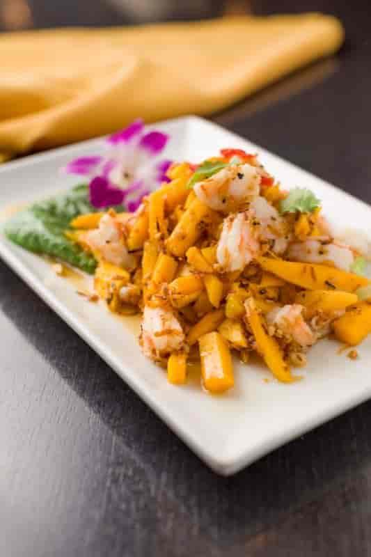 Coco Mango Shrimp