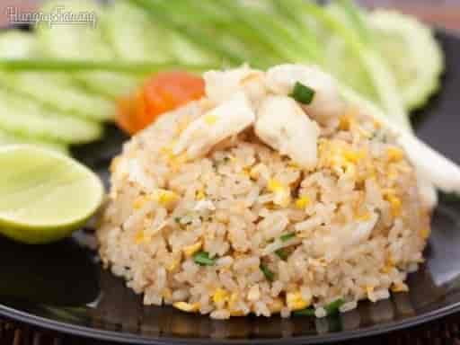 L9. Thai Fried Rice + Salad