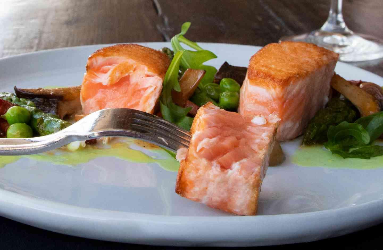 salmon bits