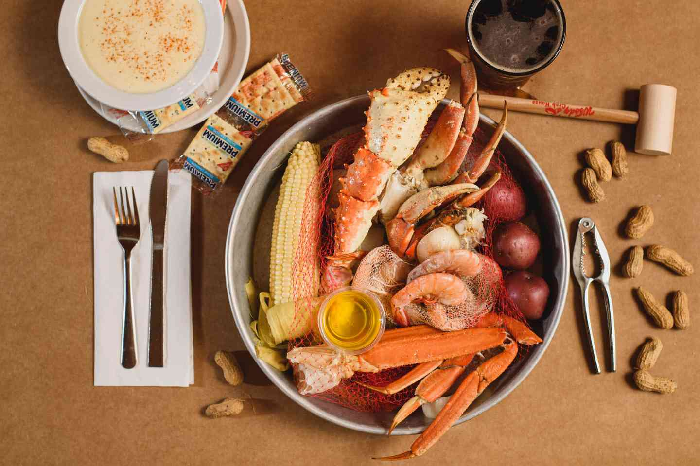 Crab & Shrimp Steamer Sack