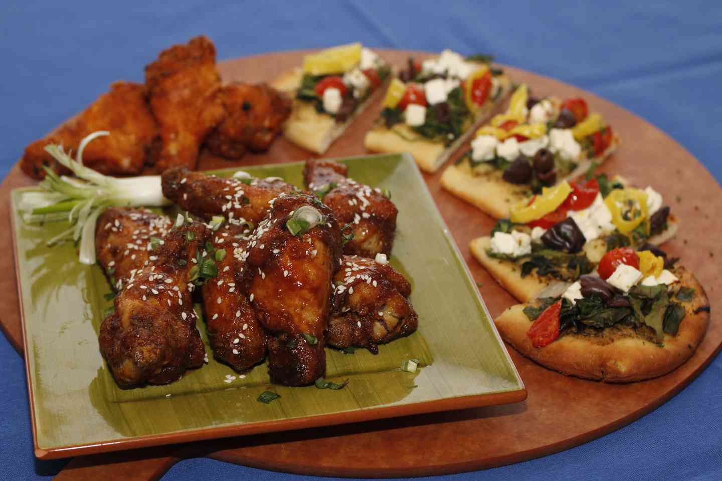 Wings Flatbreads