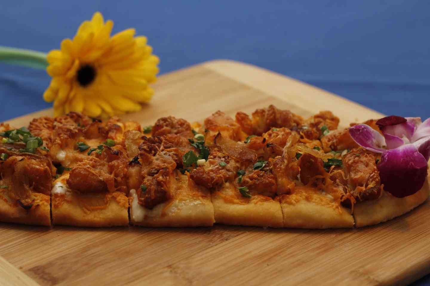 BBQ Pork Flatbread