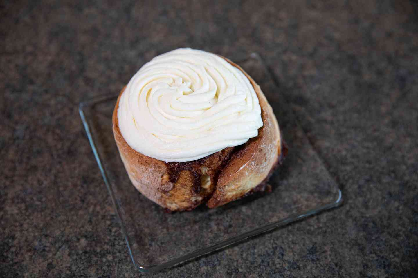 Homemade Jumbo Cinnamon Roll