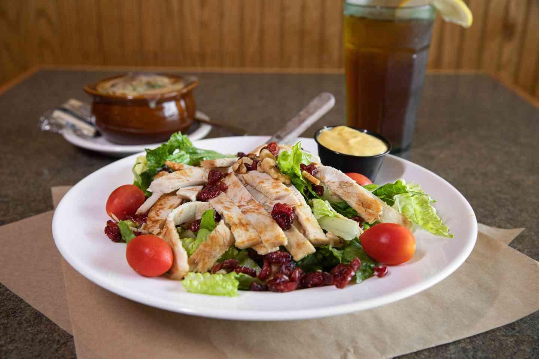 Grilled Turkey Craisin Walnut Salad