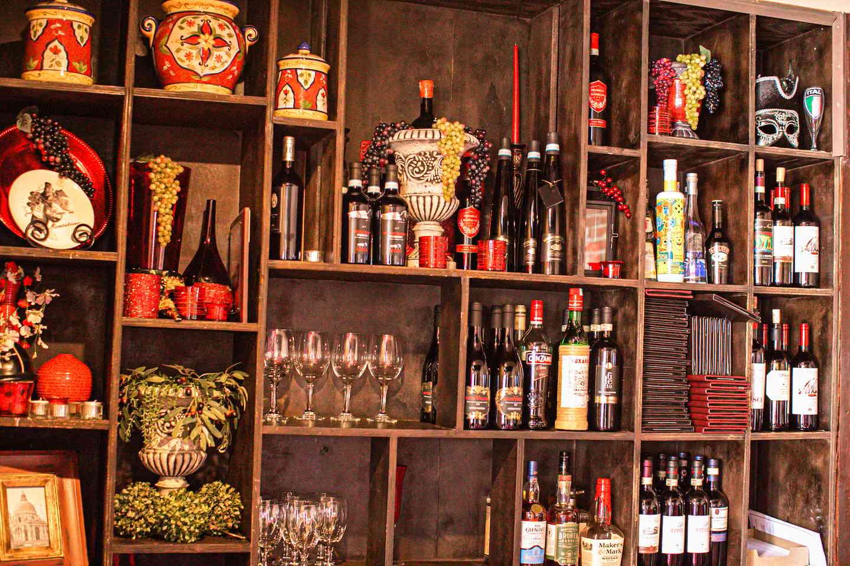 Wine rack and decor