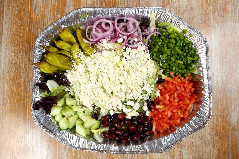 Family Style Greek Salad