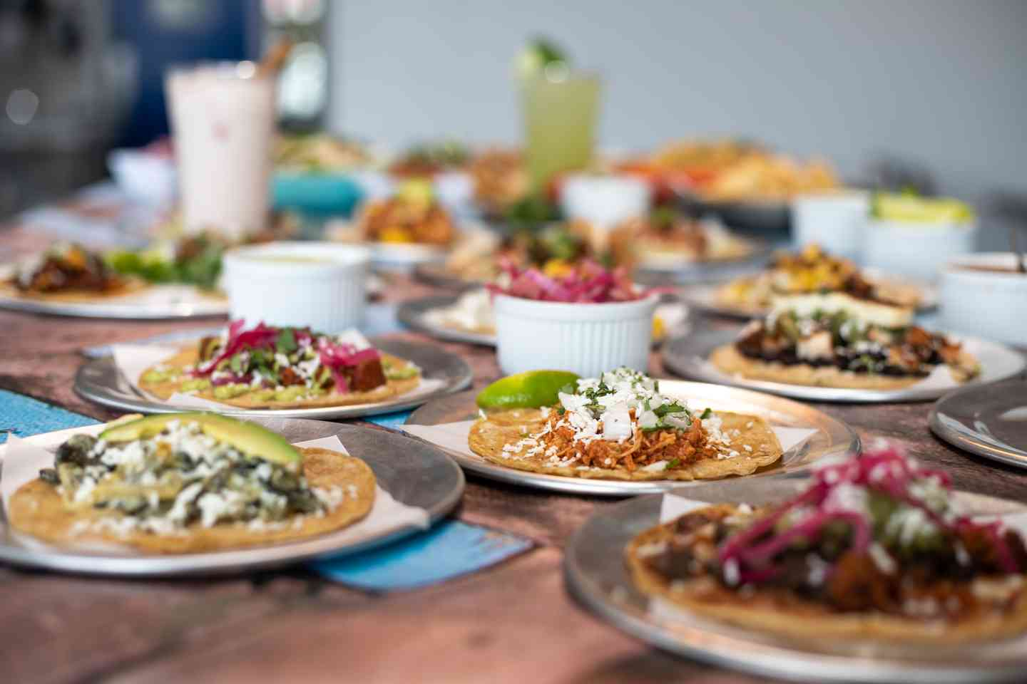 Group of Tacos