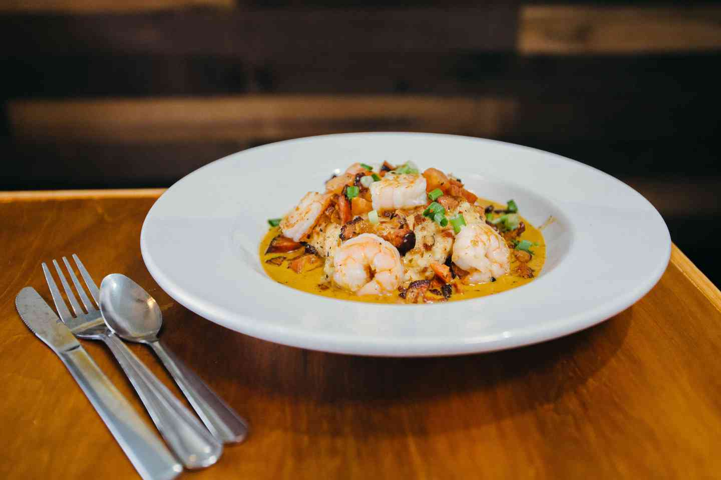 Tuesday - Shrimp and Grits