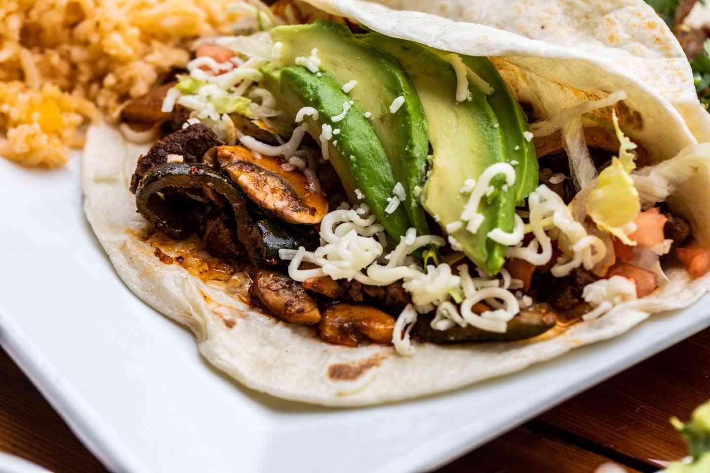 Pueblo Viejo style tacos
