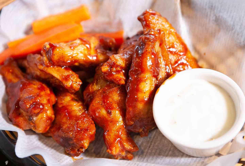 Fireside Wings {8}