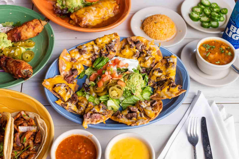 fajita nachos