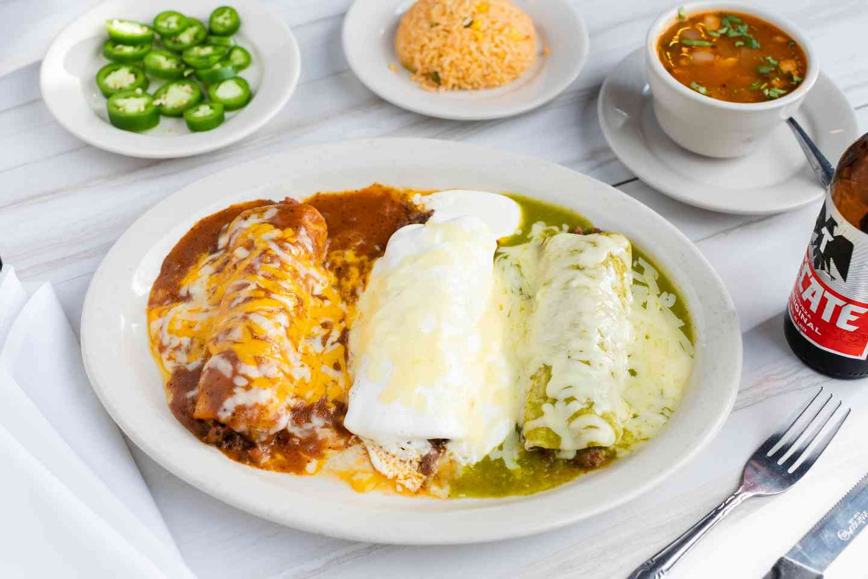 3. Enchiladas Banderas