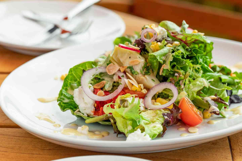 Sapphire Garden Herb Salad