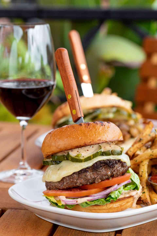 American Wagyu Beef Burger