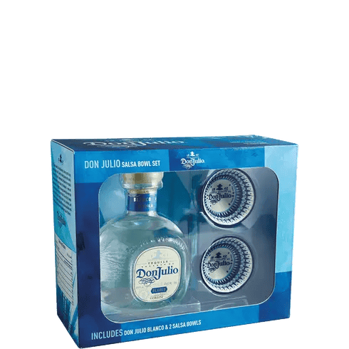 Don Julio Gift Set with 2 Salsa Bowls