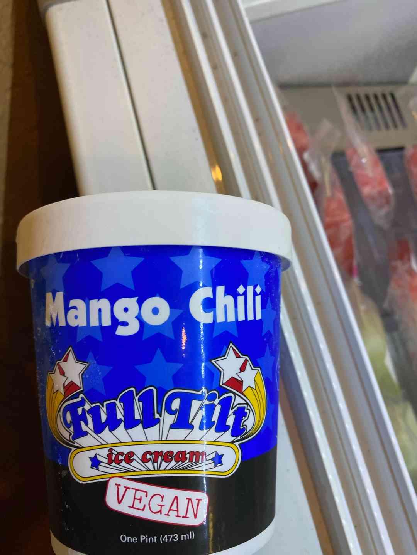 Vegan Mango Chili Ice Cream