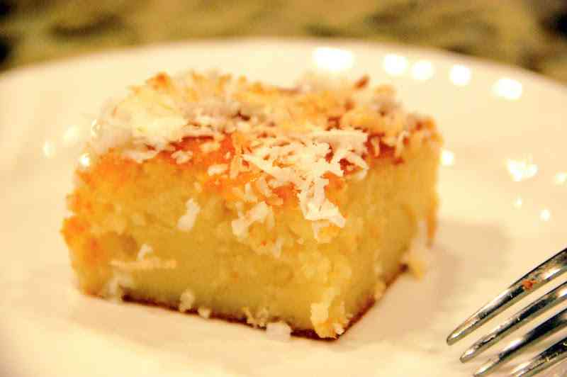 Coconut Butter Mochi