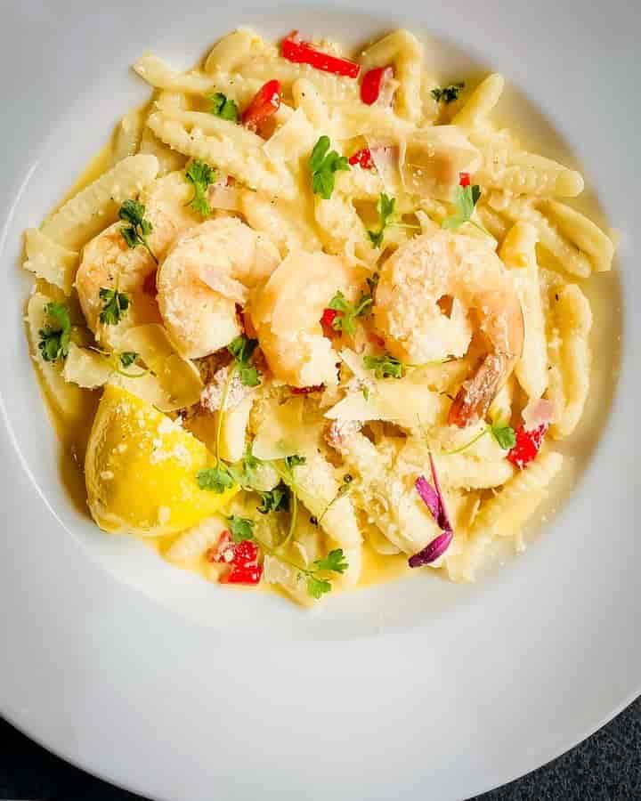 Shrimp Cavatelli