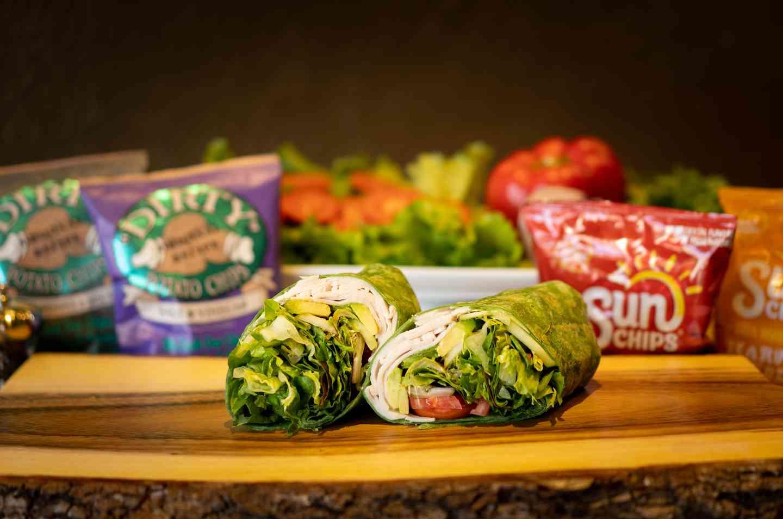 Turkey & Avocado Wrap