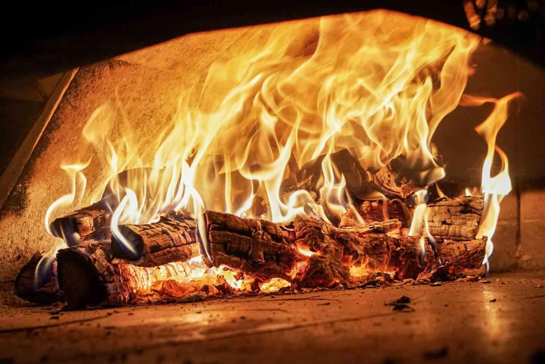 Wood burning oven