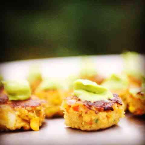 Southwest Crab Cakes