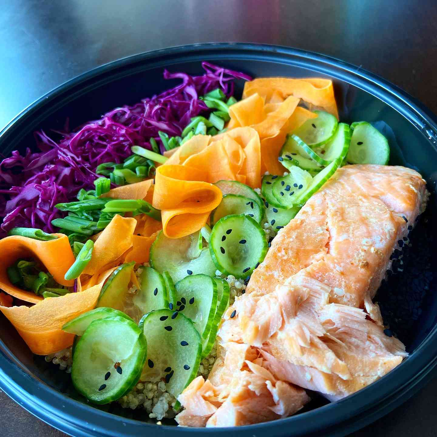 Wednesday 4/21 Chilled Salmon Poke Bowl