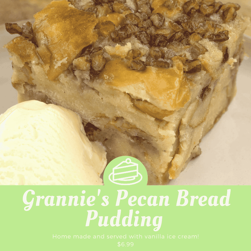 Grannie's Pecan Bread Pudding