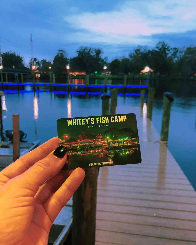 Whitey's Gift Card