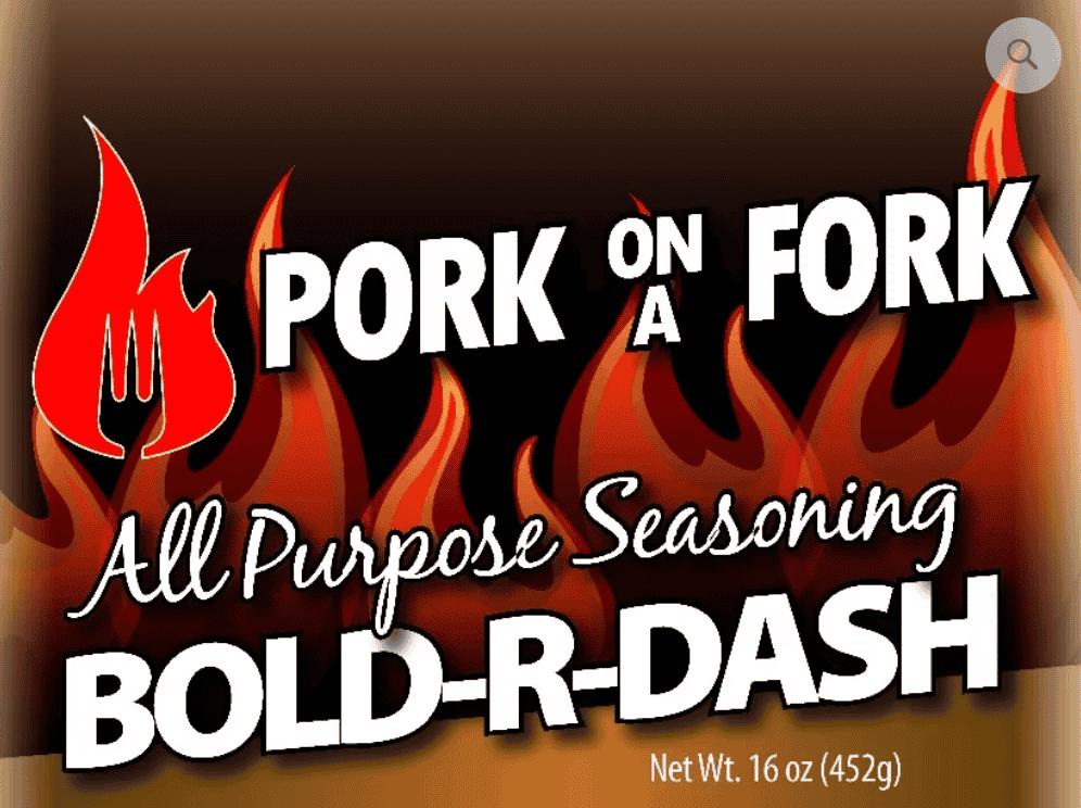 Bold-R-Dash All Purpose Seasoning 16 oz