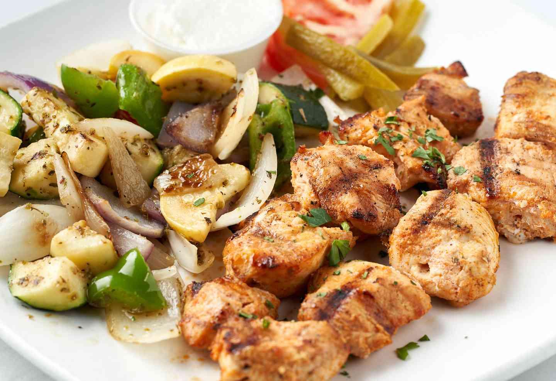 Marinated Chicken Kabob (Shish Tawook)