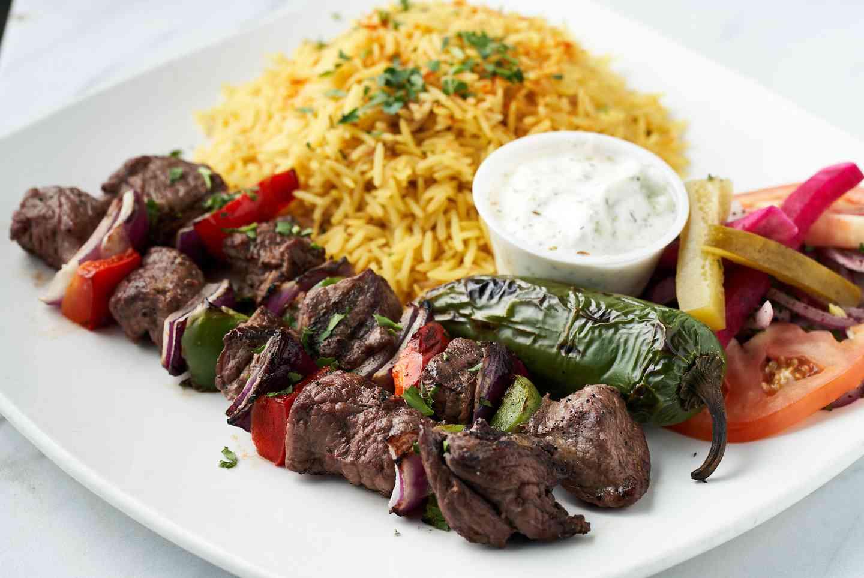 Lamb or Beef Kabob (Lahm Meshwi)