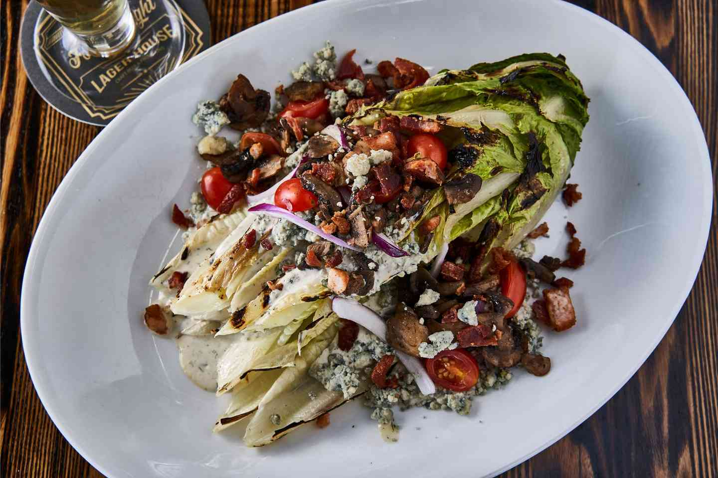 Grilled Romaine Wedge
