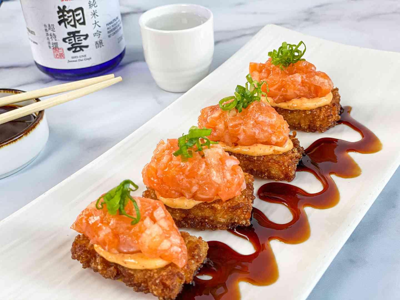 Salmon Crispy Rice