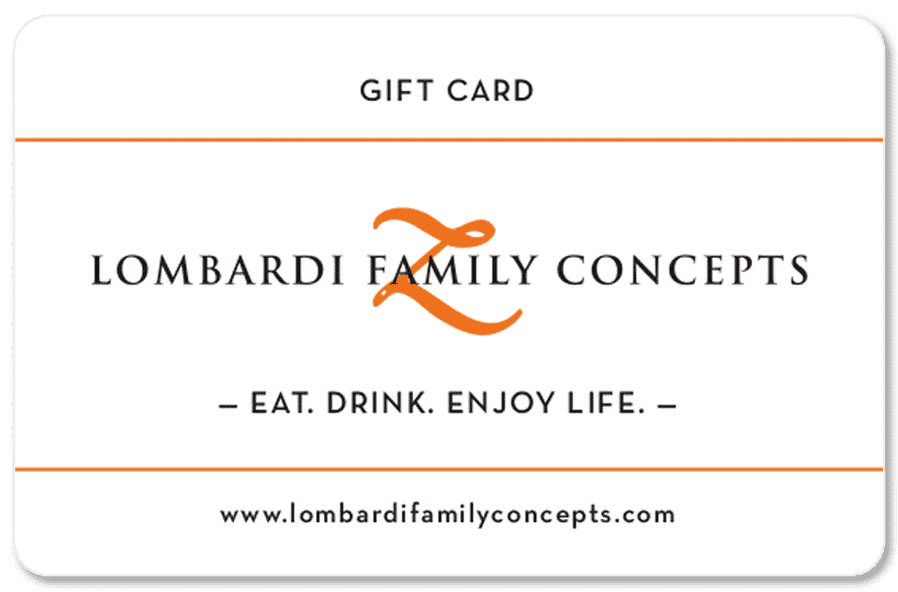 image of lombardi gift card