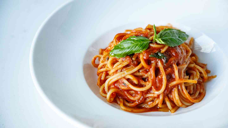 Spaghetti Chitarra Al Pomodoro