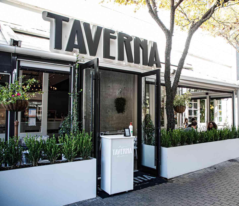 Taverna Austin Entrance