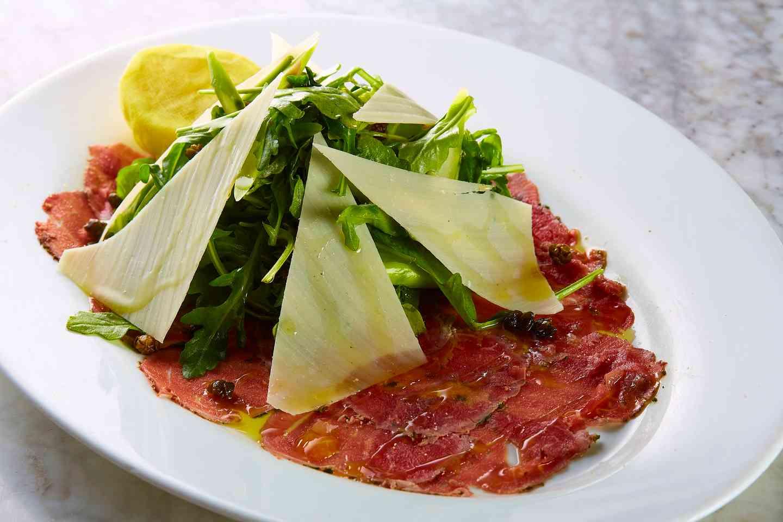 Beef Cured Carpaccio*