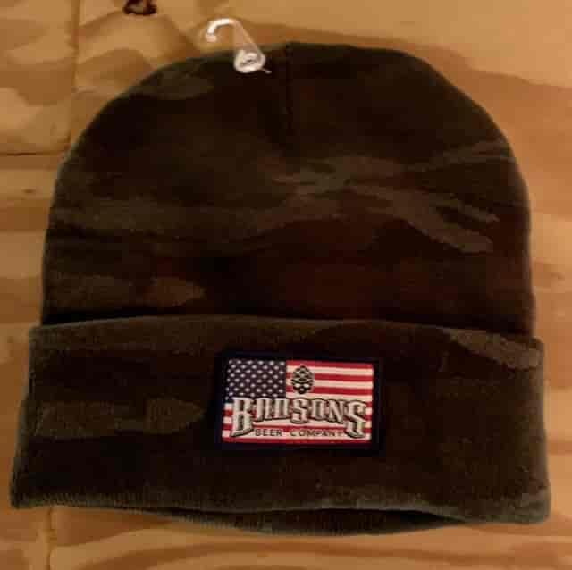 Americana Camo Winter Beanie