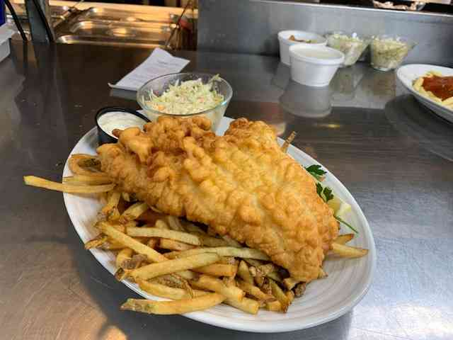 Deep Fried Haddock (FRIDAY ONLY)