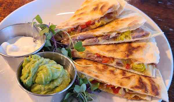 Duck Quesadilla