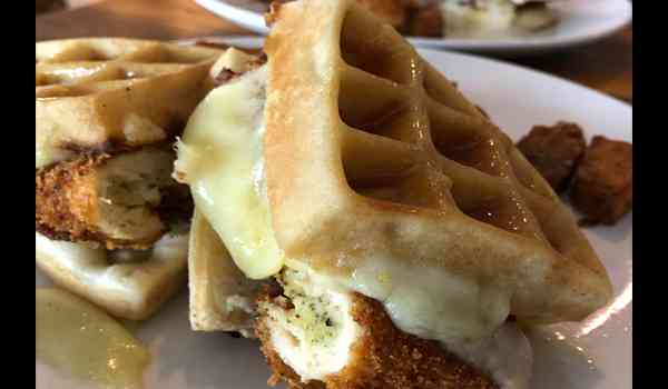 Fried Chicken & Waffles Grilled Cheese