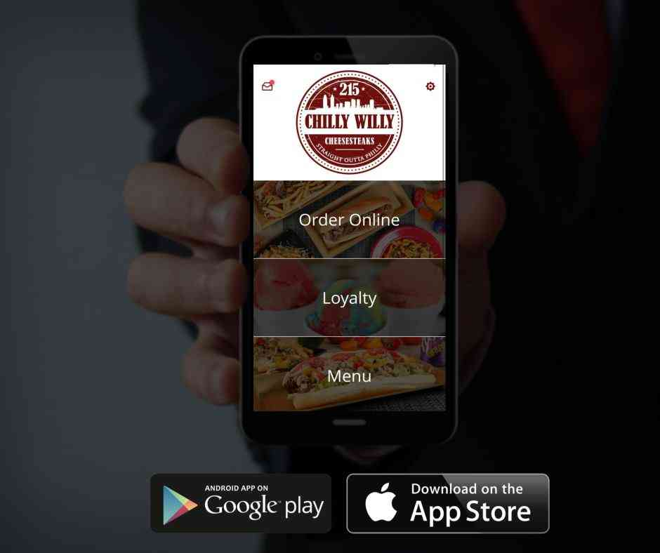 Chilly Willy Cheesesteaks App