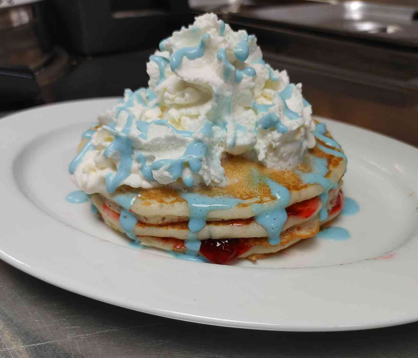 Featured: Strawberries N' Cream Pancakes or Crepes