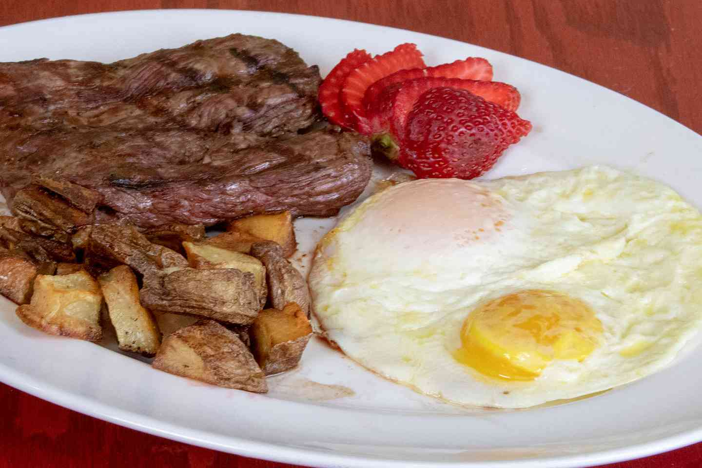 Skirt Steak & Two Eggs