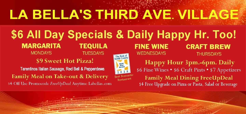 Daily Happy Hours Many Ways